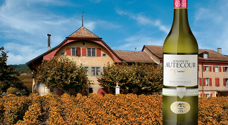 Domaine de Autecour, vin d'honneur du Conseil d'Etat vaudois !