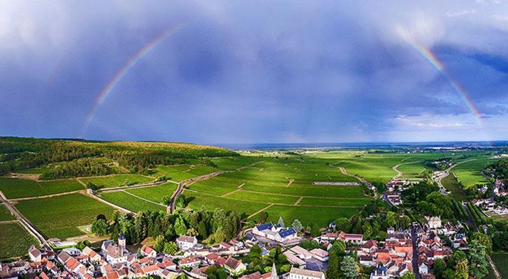 Weekend in den Weinbergen im benachbarten Frankreich