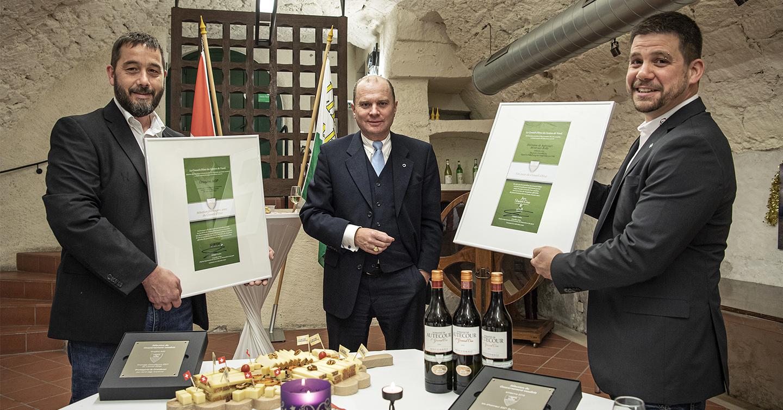 Domaine de Autecour - sacré vin d'honneur du Conseil d'Etat vaudois 2021